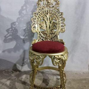 صندلی تکی برنزی